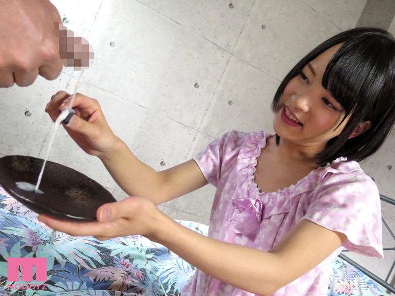 【ごっくん】 美少女がザーメン食べた 男汁バイキング あべみかこ キャプチャー画像 3枚目