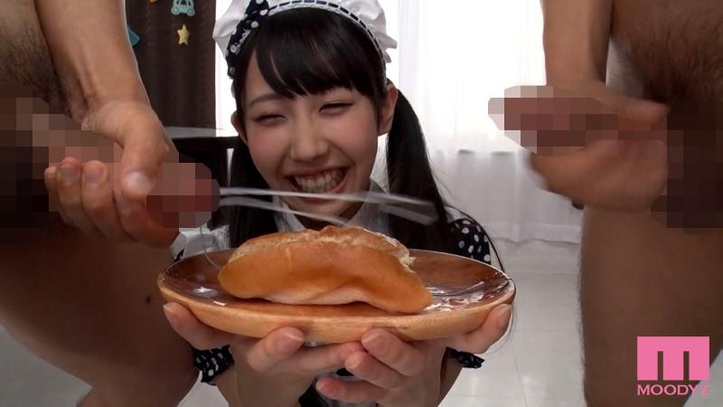 美少女がザーメン食べた 男汁バイキング 宇佐美まい|無料エロ画像5