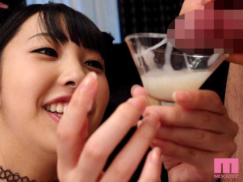 美少女がザーメン食べた 男汁バイキング 宇佐美まい キャプチャー画像 7枚目