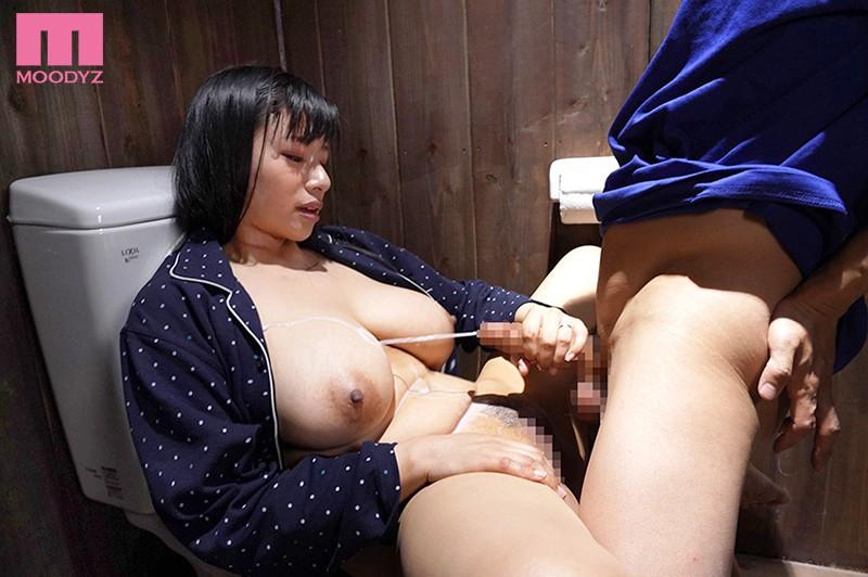 「おっぱい乗ってますけど…」超タイプの巨乳義母と入浴セックス 永井マリア
