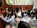 珍棒館 壁ち●ぽの館に迷い込んだ卒業旅行中の女子大生6人組3
