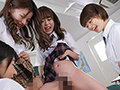 聖水ハーレム 美少女4人におしっこビチャビチャかけられ何度...sample4