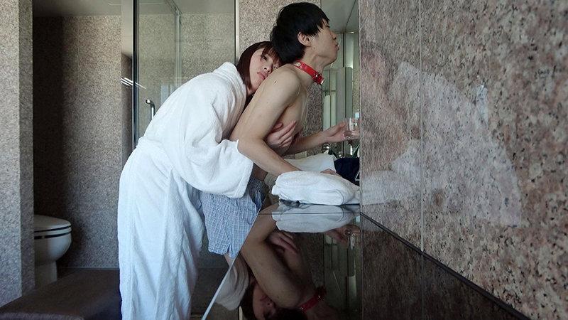 「ねえ…今日だけは私に乳首を好き勝手させてよ…。」空が回ってもず~っと終わらない真性乳首性交 あおいれな 画像3