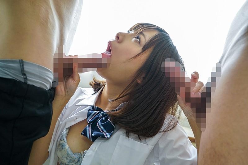 文科系の彼女が脳筋体育教師に寝取られて、誰にでも中出しさせてくれるビッチになってしまった。僕はまだキスもしてないのに… 一条みお 15枚目