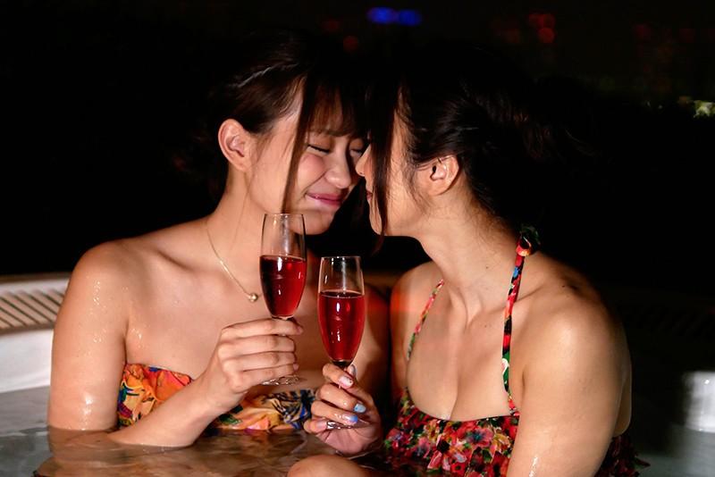 美しすぎるレズビアンカップルの日常〜ねっちょり絡みあう濃厚な接吻と大人のレズセックス2 大槻ひびき 美谷朱里