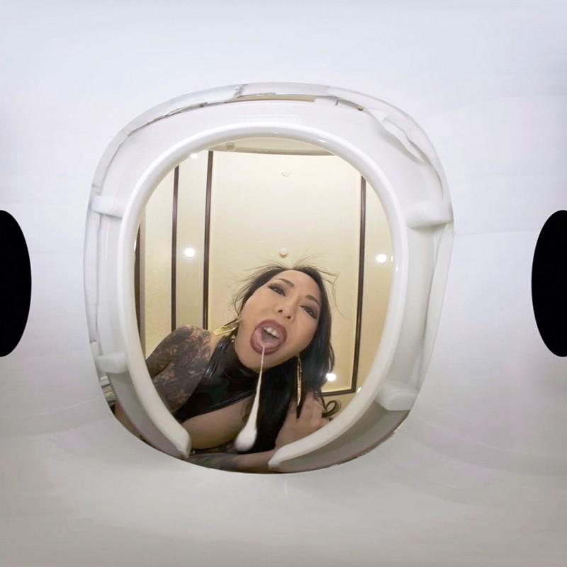 【VR】【VR高画質】M男を人間便器にして楽しむゲロスカ女子倶楽部 妖湖女王様