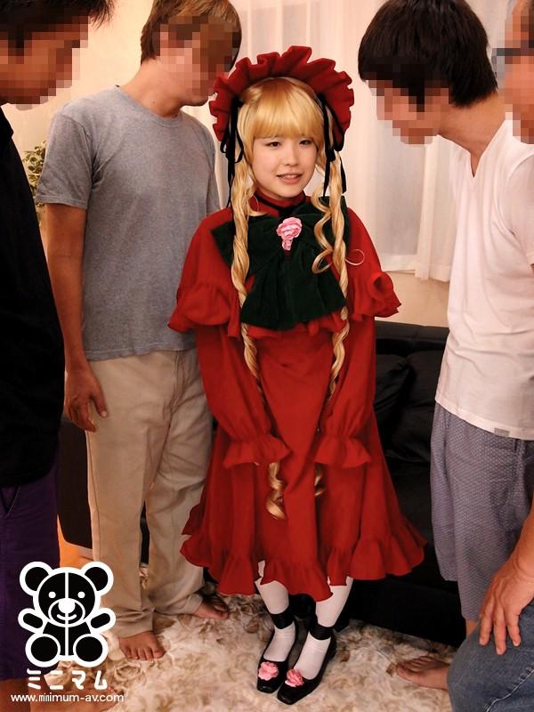生まれて初めてのおしり。アナルはもう一つのマ○コだと教えられる。コスプレ少女編 ともこPP(パイパン) キャプチャー画像 1枚目