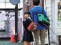 街で良く見る違和感カップル。写真だけのコスプレ撮影。川島くるみ 135cm1