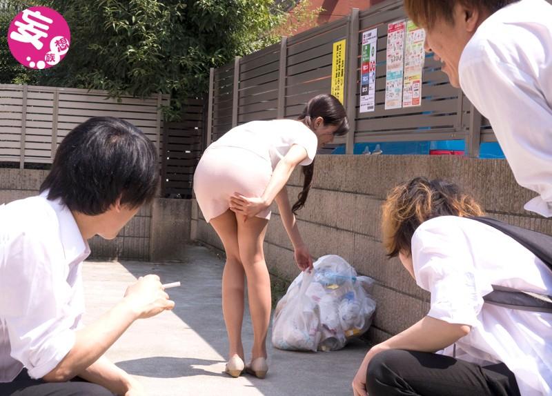 【花嫁・若妻】 近所のクソガキどもに目をつけられてしまったボクの妻 中村奈菜 キャプチャー画像 3枚目