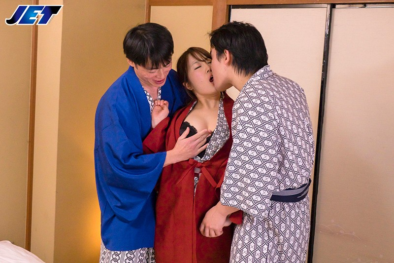 NDRA-054 Studio JET Eizo - My Wife Was Made To Serve Alcohol To A Group Of Vulgar Travelers In The Banquet Hall Of The Japanese-Style Hotel We Were Staying In... Yuki Utakata big image 7