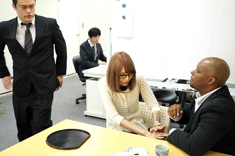 NGOD-118 Studio JET Eizo - Black Evildoer NTR Sex This Black Investor Who Came To Japan From The Los Angeles Office Is Plunging His Dark Materials Into A Pussy Venture-Seeking Accountant Housewife Elle Sato big image 5