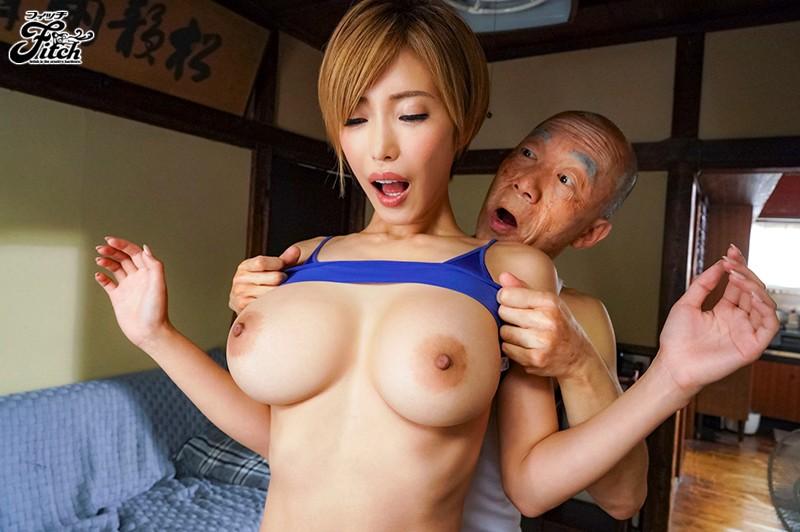人気同人コミックを実写化!! こんなお爺ちゃんに感じさせられて…。 女体堪能シリーズ01 朝姫と梅吉 君島みお キャプチャー画像 2枚目