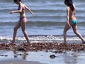 It Is Summer!It 's The Sea!Nampa's Beach!GAL11 People Best Amateur Bikini That You GET In The Sea!6 Hours! preview-10