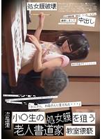 小○生の処女膜を狙う 老人書道家 教室猥褻 ダウンロード
