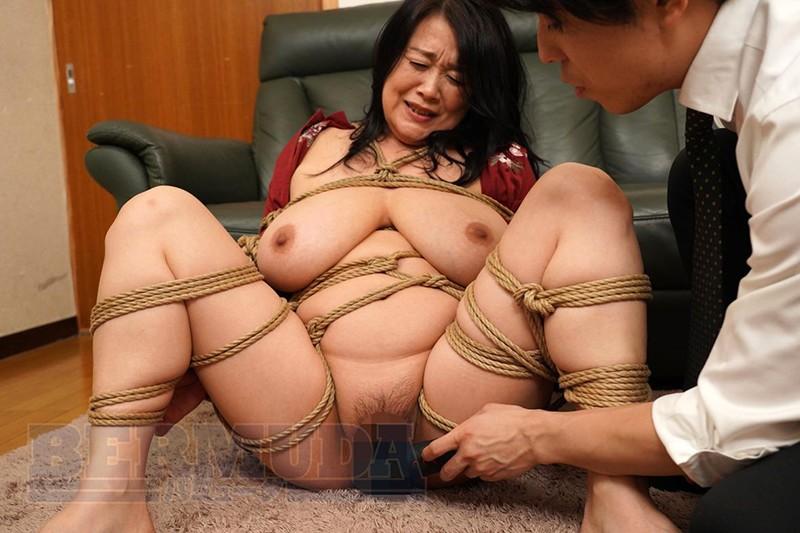 縛られた巨乳社長夫人 鮎川るい50歳9