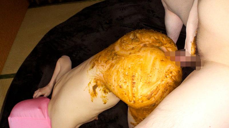 永年使い込まれた熟女の糞穴を味わう肛門性交。