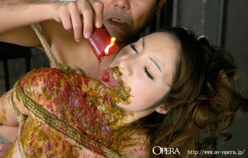 極めつきド変態 フェロモン美女が緊縛塗糞SEX 夏樹美奈