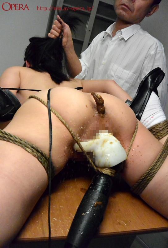 【縛り・緊縛】 優等生の初脱糞 ~緊縛脱糞調教~ 有本紗世 キャプチャー画像 5枚目