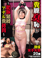 糞豚臭恥17 ~肥豚緊縛アナル糞拷問~ ダウンロード