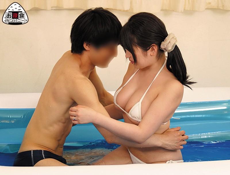 童貞と巨乳若妻を水着で混浴させたらどうなる?数々のエロミッションで勃起しまくりの童貞に若妻は? 画像3
