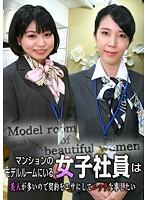 マンションのモデルルームにいる女子社員は美人が多いので契約をエサにしてエッチな事したい【parathd01641】