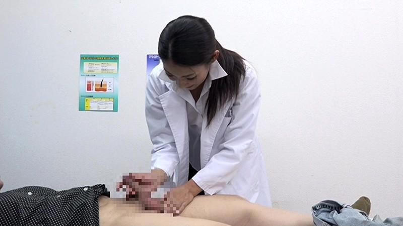 美人の先生がいる皮膚科に行って腫れたチンコを診てもらう流れでヌイてもらいたい(3) 画像5