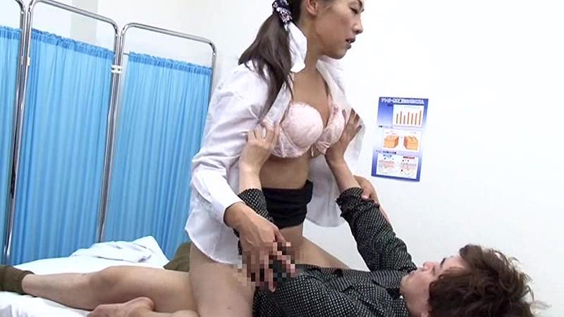 美人の先生がいる皮膚科に行って腫れたチンコを診てもらう流れでヌイてもらいたい(3) 画像9
