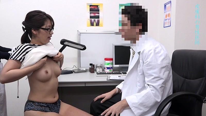 美人の先生がいる皮膚科に行って腫れたチンコを診てもらう流れでヌイてもらいたい総集編 画像12