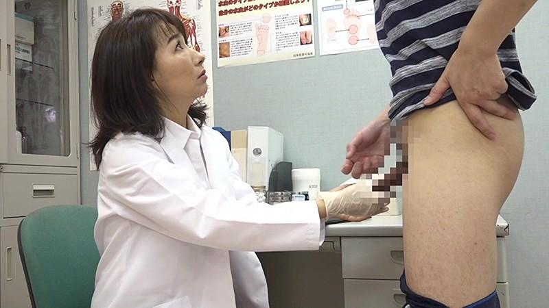 美人の先生がいる皮膚科に行って腫れたチンコを診てもらう流れでヌイてもらいたい(7) 画像15