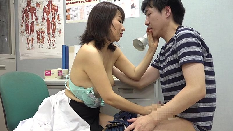 美人の先生がいる皮膚科に行って腫れたチンコを診てもらう流れでヌイてもらいたい(7) 画像16