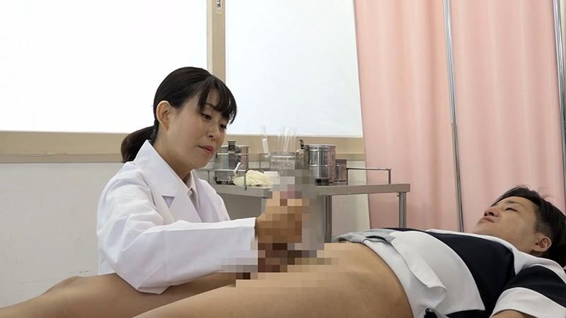 美人の先生がいる皮膚科に行って腫れたチンコを診てもらう流れでヌイてもらいたい(10)4
