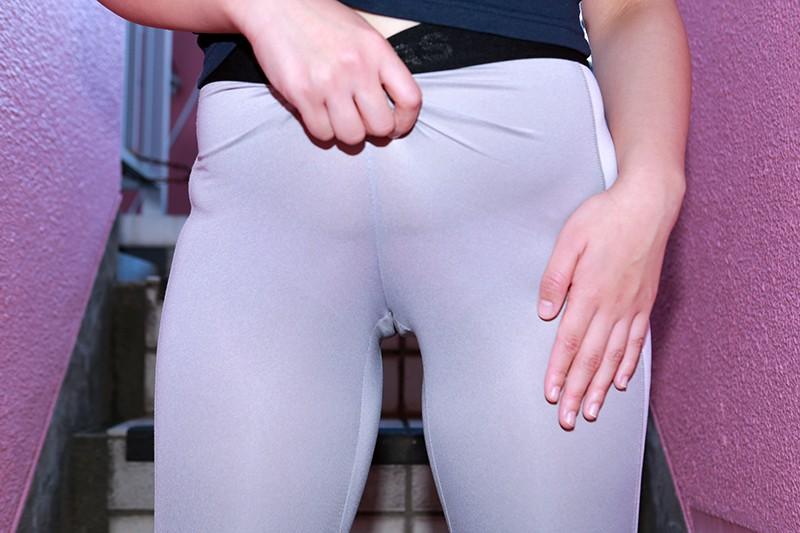 マンスジくっきりのレギンス女子ナンパ〜ぴったぴたのムチ尻にバックからぶち込みたい! キャプチャー画像 14枚目