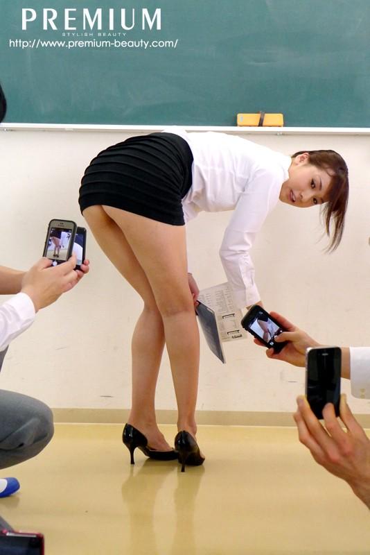 ノーパン女教師 大場ゆい 画像6