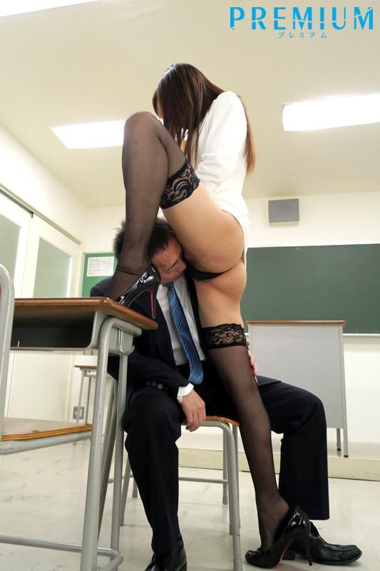 誘惑女教師〜美脚と絶対領域編〜 水沢のの 画像3