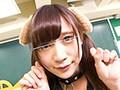 【女子生徒×ぺろぺろワンちゃん】クラスの性ペットとなった女子生徒がカワイイ犬耳と首輪をつけられ誰もいない教室で全身ぺろぺろさせられる!