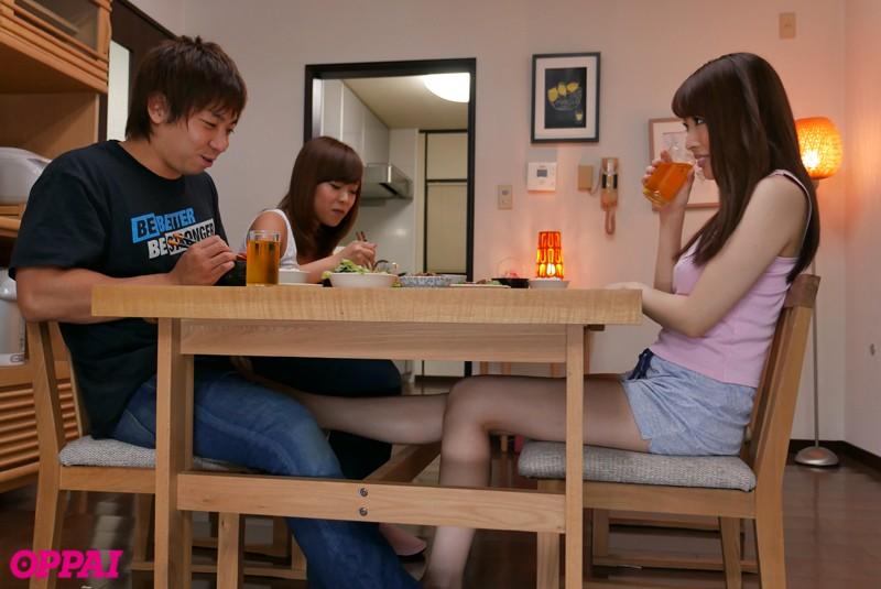 彼女のお姉さんは巨乳と中出しOKで僕を誘惑 本田岬 画像1