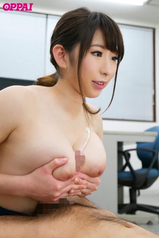 ねっとりパイズリ誘惑女教師 宝田もなみ イク時はもの凄い挟射 キャプチャー画像 4枚目