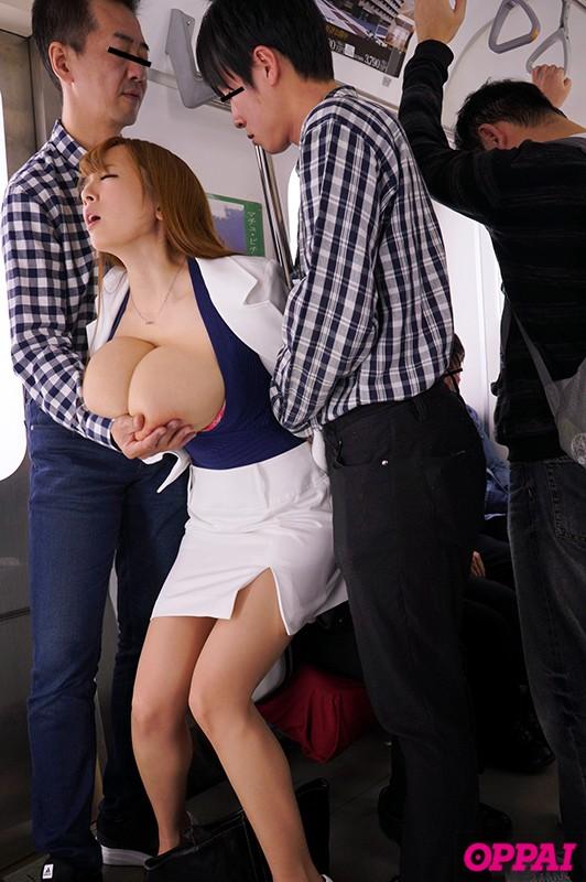 超爆乳痴漢レ×プ 〜声が出せない状況で鬼揉み痙攣絶頂〜 Hitomi キャプチャー画像 7枚目