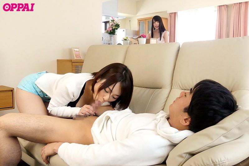 セクシーな巨乳のお姉さんの、手コキ寝取られ生挿入無料動画。【フェラ、中出し動画】