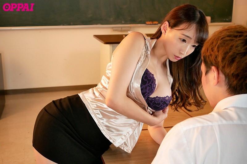 巨乳女教師の誘惑 蓮実クレア
