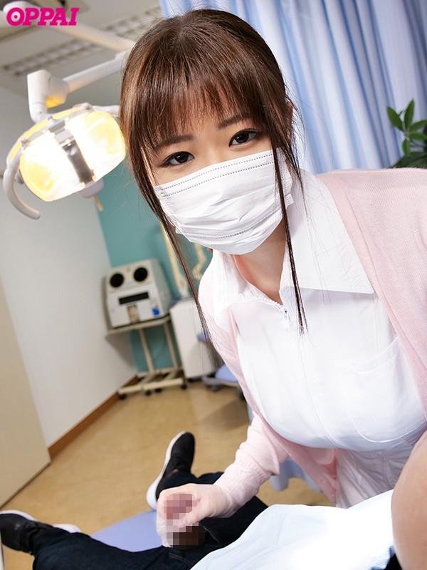 歯科治療中にAVみたいに患者をこっそり射精させているむっつりスケベHカップ歯科衛生士さんデビュー ほむら優音