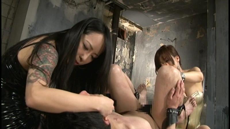 Aoi女王様と妖湖女王様の究極アナガズム 男同士♂×♂のSEXでイキまくり失神![qrda00037][QRDA-037] 15