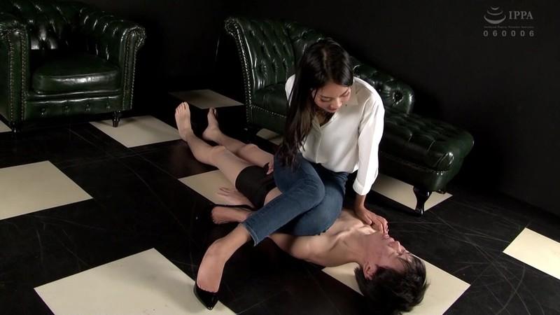 美脚ドライ中毒 脚長女王の美脚ハラスメント サラ 画像19