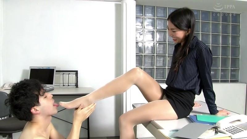 美脚ドライ中毒 脚長女王の美脚ハラスメント サラ 画像5