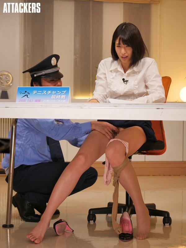 淫語調教 恥辱の美人キャスター 川上奈々美 キャプチャー画像 5枚目