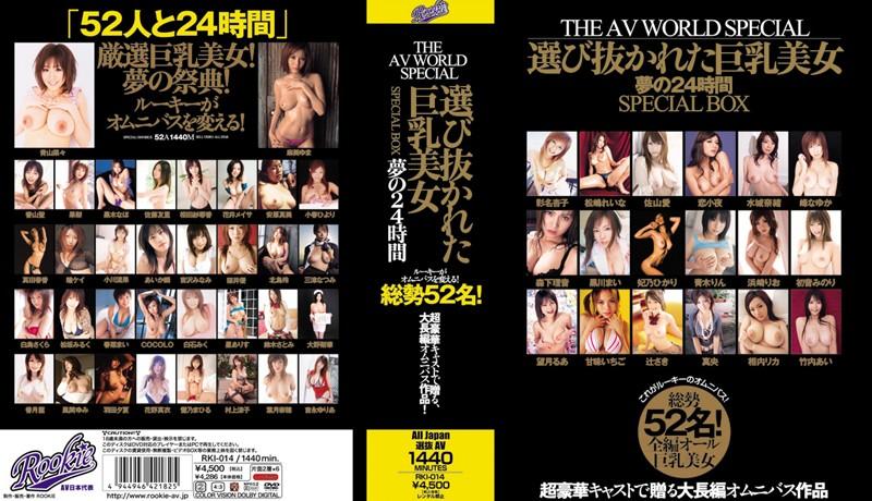 THE AV WORLD SPECIAL 選び抜かれた巨乳美女 夢の24...