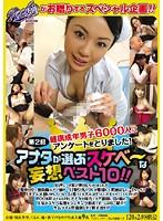第2回 健康成年男子6000人にアンケートをとりました! アナタが選ぶスケベ〜な妄想ベスト10!!
