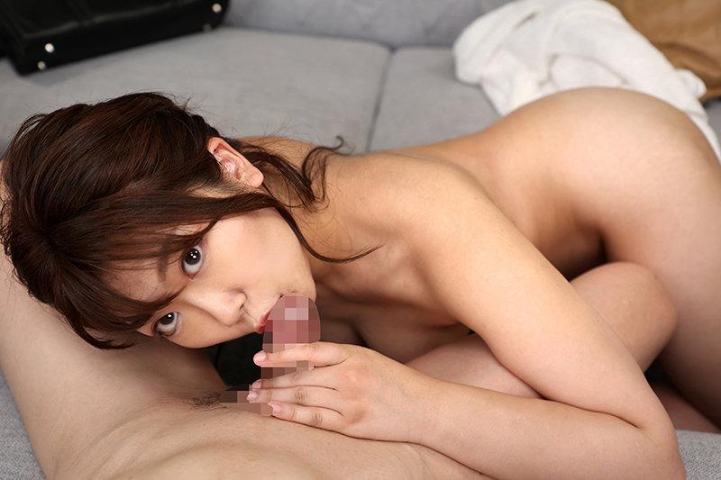 並木杏梨の舐めフェラ
