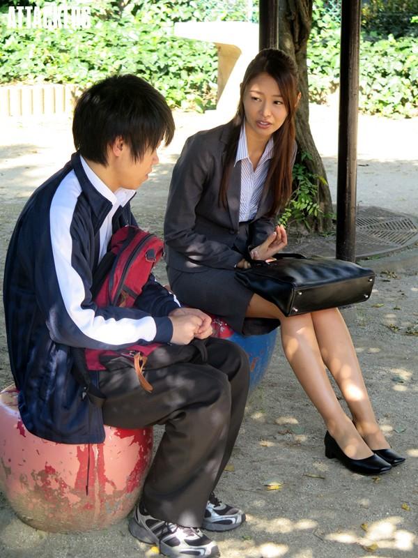 生徒に輪●された女教師 夏目彩春サンプルF8