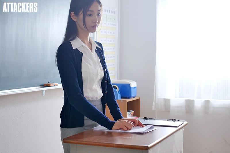 バドミントン部顧問教師 スコート越しの凌辱 夏目彩春 キャプチャー画像 11枚目